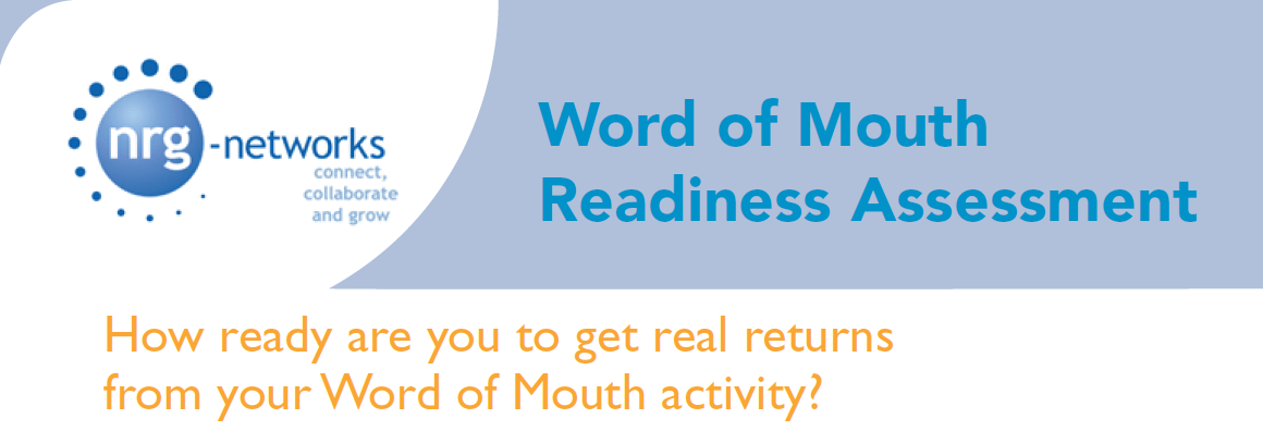 Word of Mouth Readiness